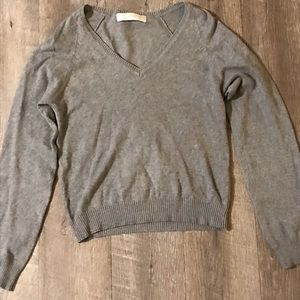 Zara women's gray sweater medium